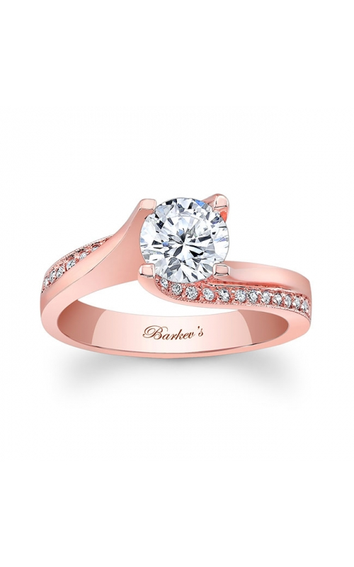 Barkev's Rose Gold Engagement Ring #7171LP product image