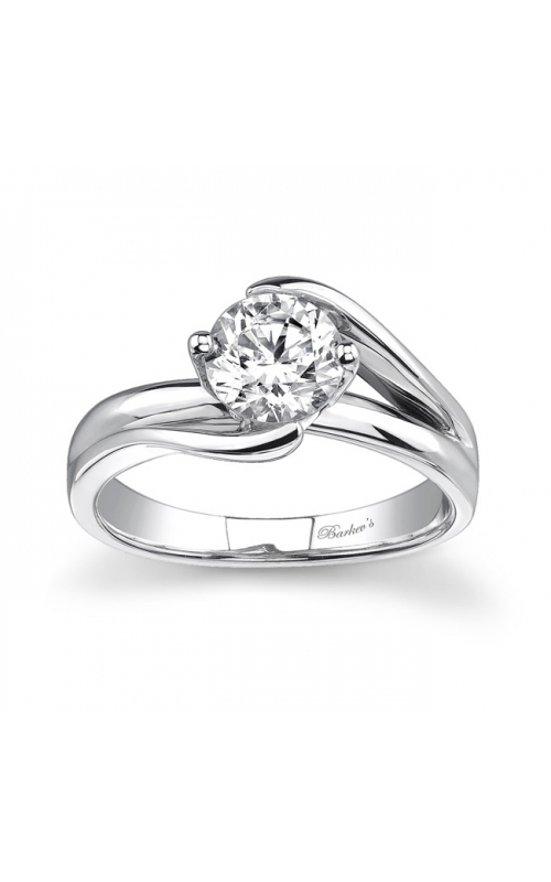 Barkev's Round Solitaire Engagement Ring #7378L product image