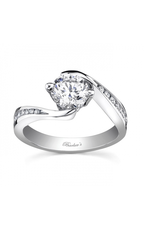 Barkev's White Gold Engagement Ring #7533L product image