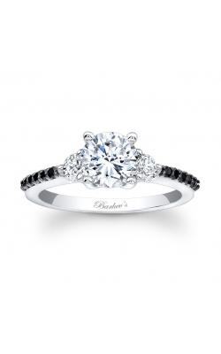 Three Stone Diamond Engagement Ring's image