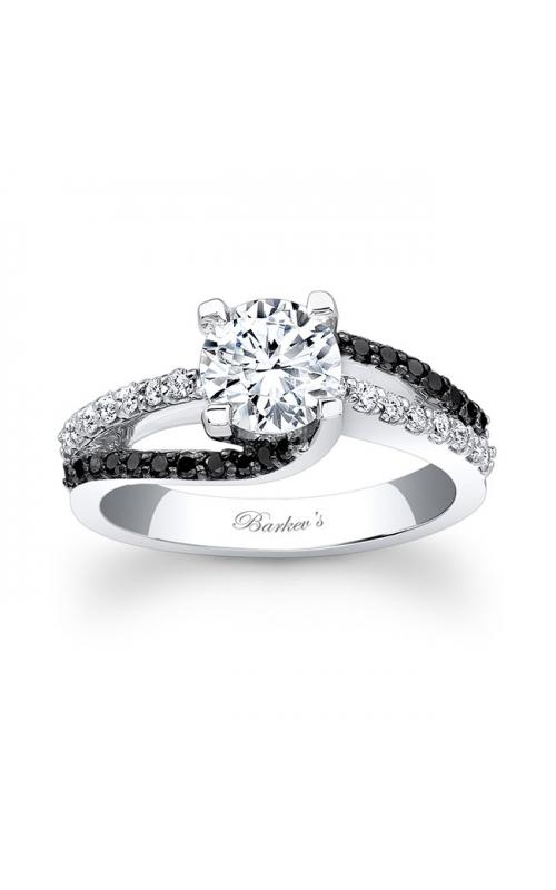 Barkev's Black Diamond Engagement Ring #7677LBK product image
