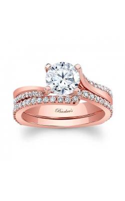 Barkev's Rose Gold Bridal Set #7693SP product image