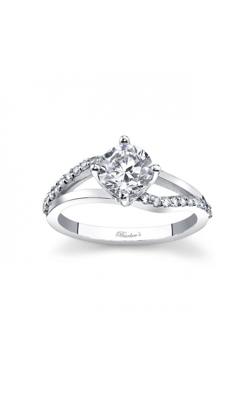Barkev's White Gold Engagement Ring #7717LW product image