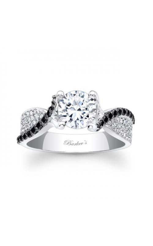 Barkev's Black Diamond Engagement Ring #7881LBK product image