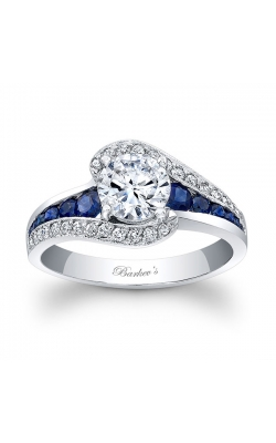 Barkev's Blue Sapphire Engagement Ring #7898LBS product image