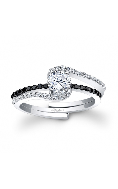 Barkev's Black Diamond Engagement Ring #7907SBK product image