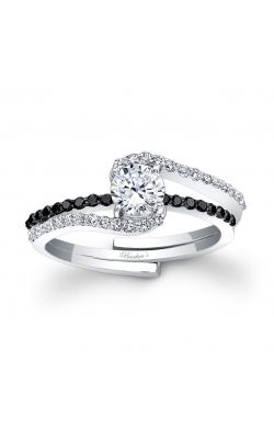 Barkev's Black Diamond Engagement Ring #7907SBK product image