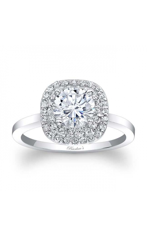 Barkev's Halo Engagement Ring #7918L product image