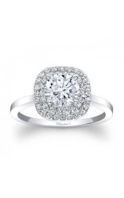 Halo Diamond Engagement Ring's image
