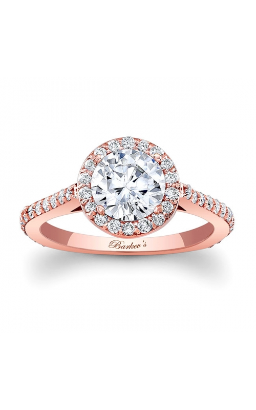 Barkev's Rose Gold Engagement Ring #7933LP product image