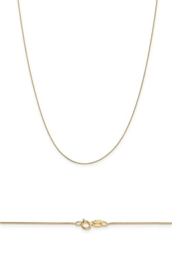14K Yellow Gold .5mm Box Chain product image