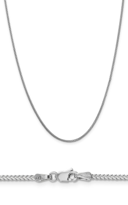 14K 1.3mm Franco Chain WFRA040-18 product image