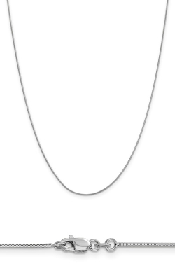 14K .9mm Round Snake Chain WSNA080-20 product image