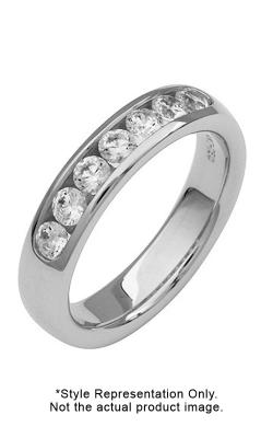 Platinum 14 Stone Channel Set Diamond Band, 1.35ct TW product image
