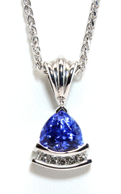 Diamond & Tanzanite Pendant product image