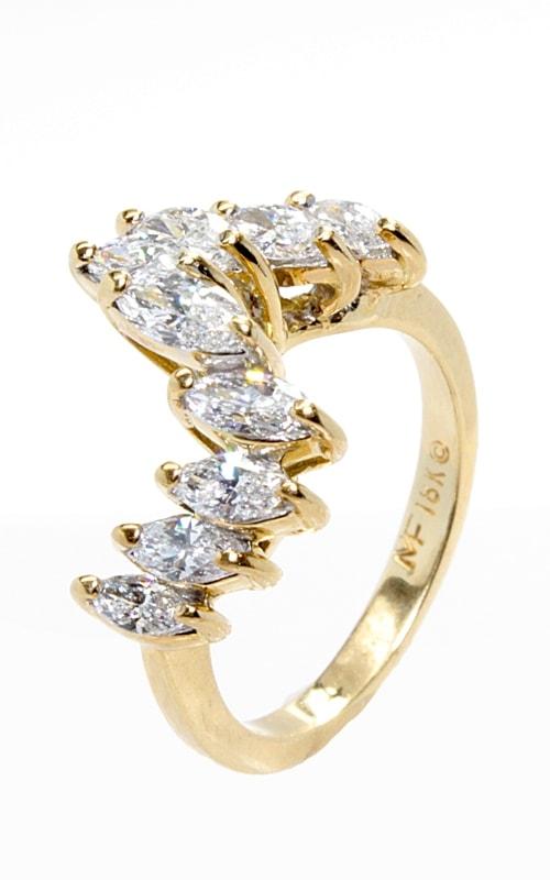 18K Marquise Diamond Band #CLOSE00046 product image
