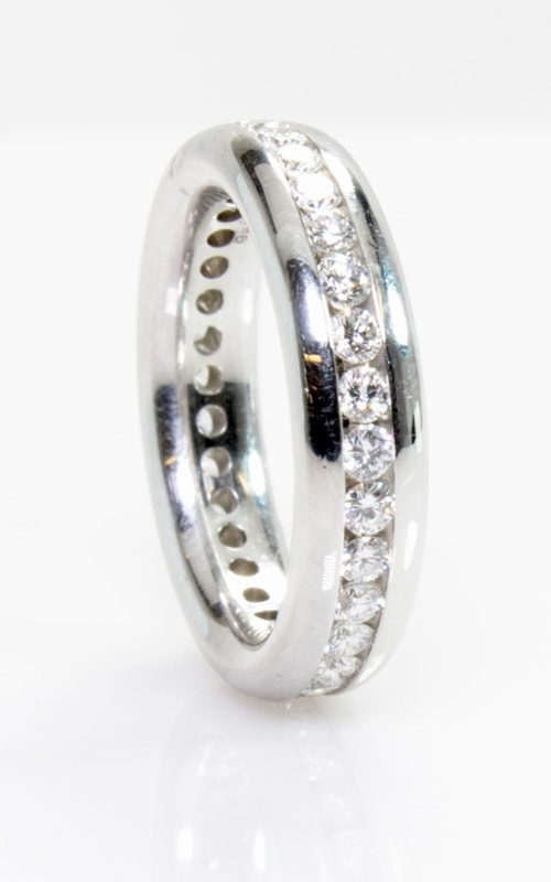Platinum Diamond Eternity Band #DBEL00037 product image