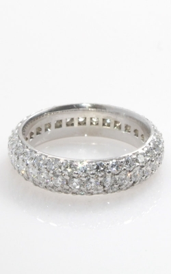 18K White Gold Diamond Eternity Band, Item# DBHIL01802 product image