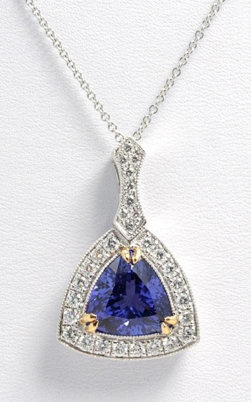 18K Diamond & Tanzanite Necklace DPEX01875 product image