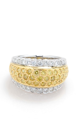 18K Two-Tone Yellow & White Diamond Ring DRL8T00430 product image