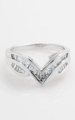 Platinum V-Shaped Baguette Diamond Band, DRSHI00554 product image