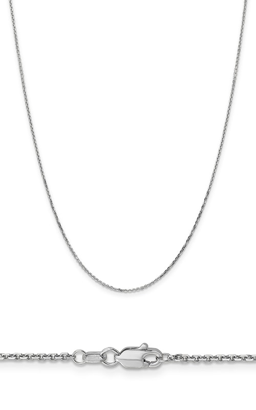 14K 1.4mm Diamond Cut Cable Chain product image