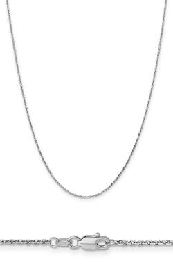 14K 1.4mm Diamond Cut Cable Chain PEN197-16 product image