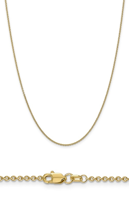 14K 1.6mm Cable Chain product image