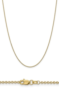 14K 1.6mm Cable Chain PEN215-20 product image