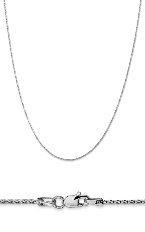 14K 1.5mm Round Diamond Cut Parisian Wheat Chain product image