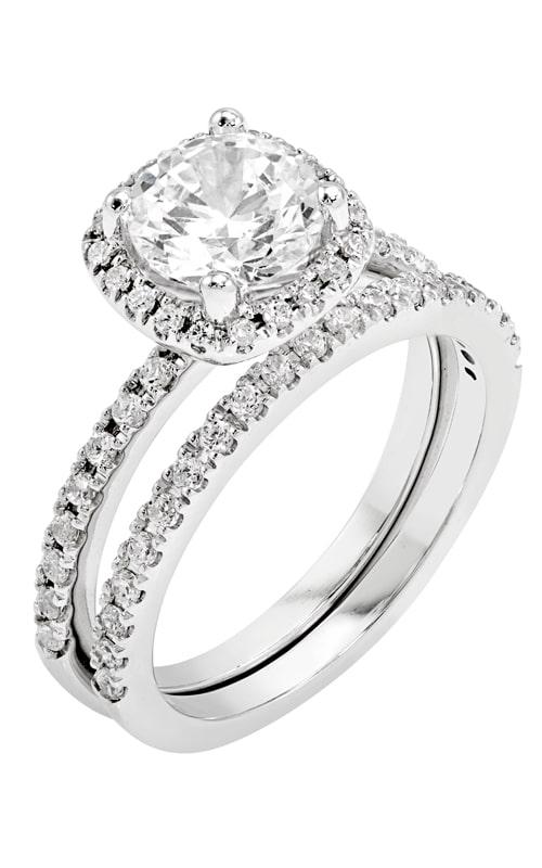 14K Gold Diamond Band BARON01651 product image