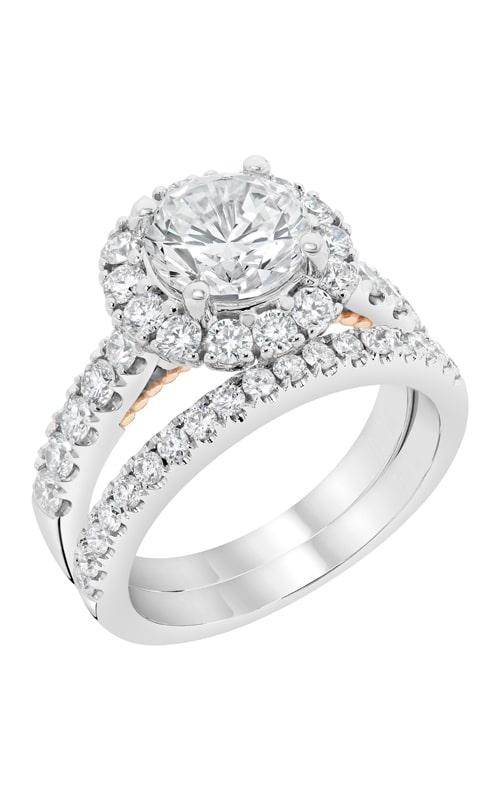 14K White Gold Diamond Band BARON00046 product image