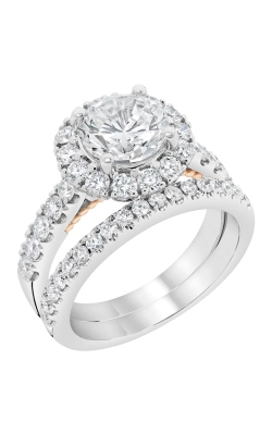 14K White Gold Diamond Band BARON00046 product image