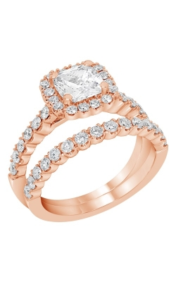 14K Rose Gold Diamond Band BARON00073 product image