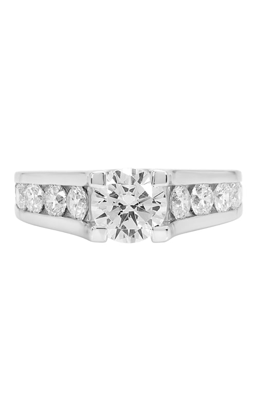 14K Cathedral Engagement Ring BARON00265 product image