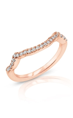 14K Modern Curved Diamond Band BARON00315 product image