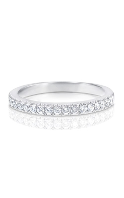 14K White Gold Diamond Band BARON01768 product image