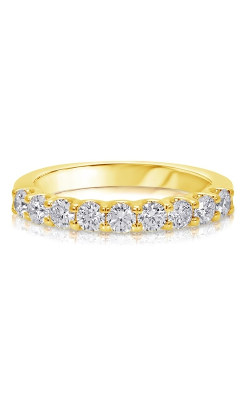 14K U-Prong Diamond Wedding Band BARON00380 product image