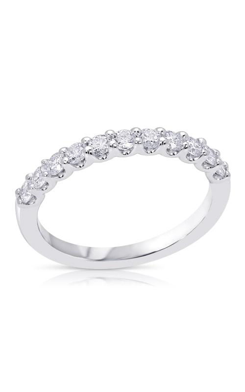 14K U-Prong Diamond Wedding Band BARON00463 product image