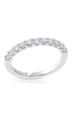 14K U-Prong Diamond Wedding Band BARON00463 product image