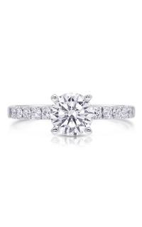 14K Classic Diamond Engagement Ring BARON00497 product image
