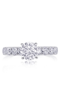 14K Classic Diamond Engagement Ring BARON00539 product image