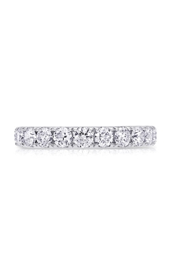 14K White Gold Diamond Band BARON00521 product image
