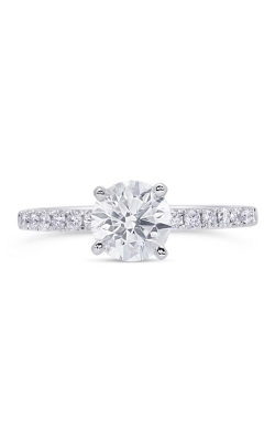 14K Classic Diamond Engagement Ring BARON00570 product image