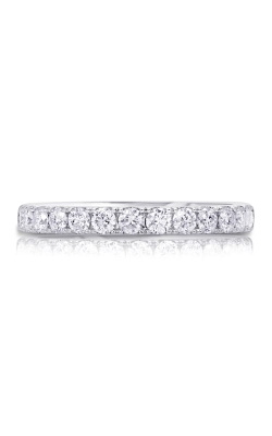 14K White Gold Diamond Band BARON00604 product image