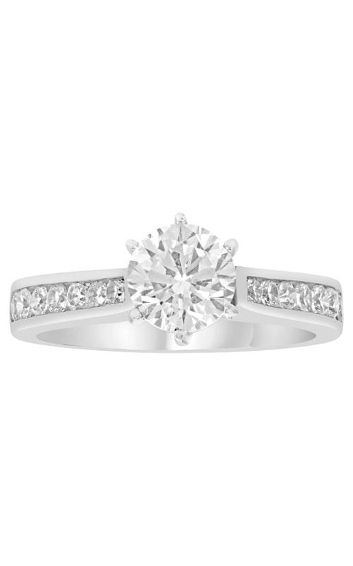 14K Classic Diamond Engagement Ring BARON00927 product image