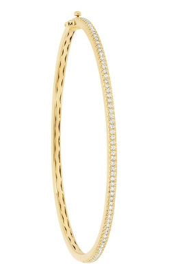 14K Yellow Gold Diamond Bangle Bracelet RB60017Y product image