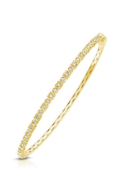 14K Yellow Gold Diamond Bangle Bracelet RB60023Y product image