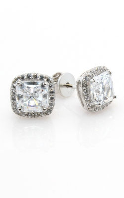 Silver CZ Stud Earrings #SCZGT00703 product image