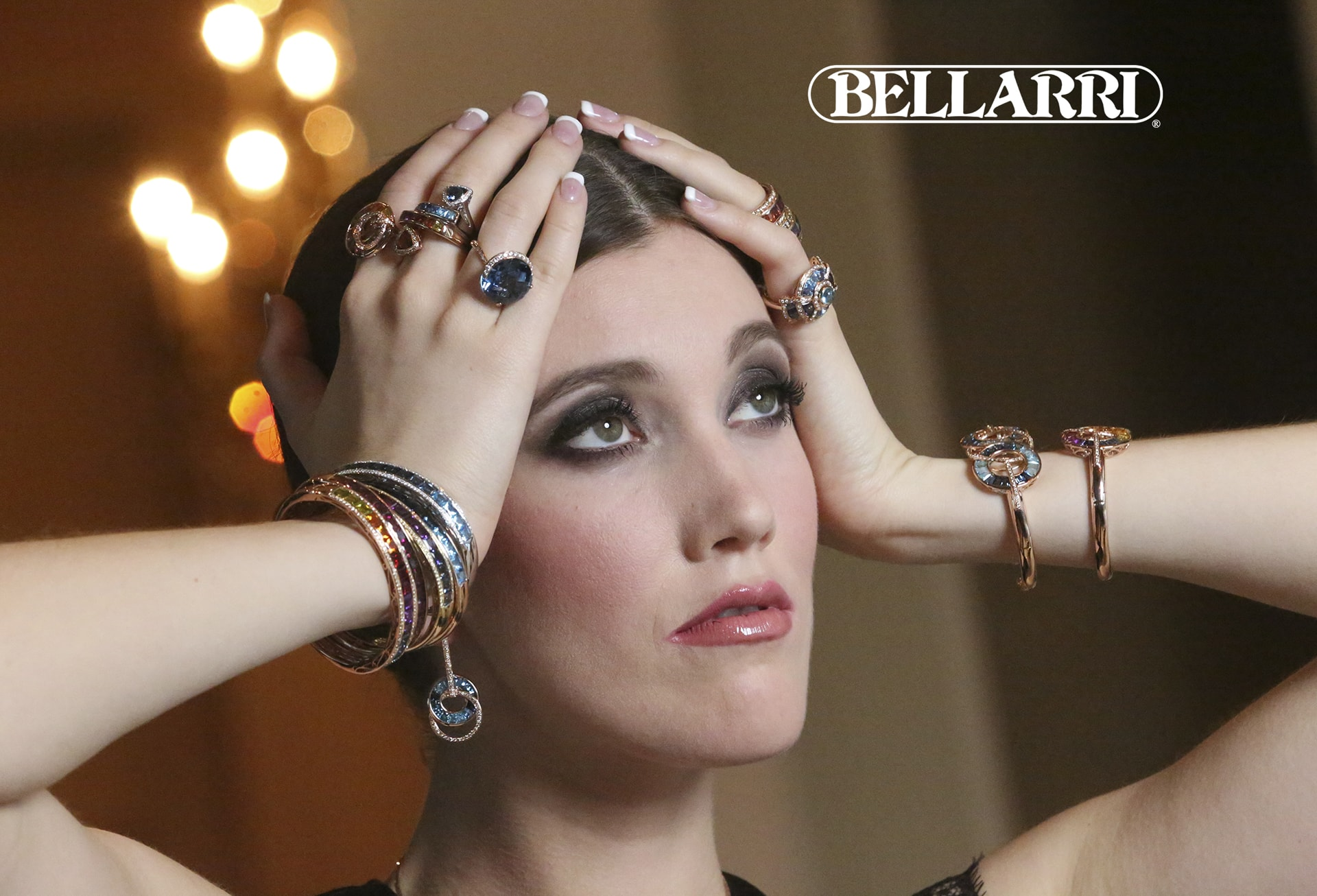 Bellarri Model with Jewelry